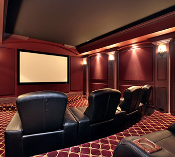 Home Theatre and Media Rooms